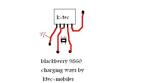 All Gsm Solution: Blackberry 9860 charging ways 100%
